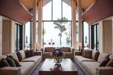 Villa Sawarin living room