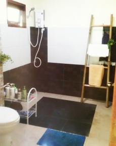 Shared Bathroom next to the rooms (2 rooms - 1 bathroom)